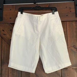 J Crew Stretch Bermuda Shorts Size 8